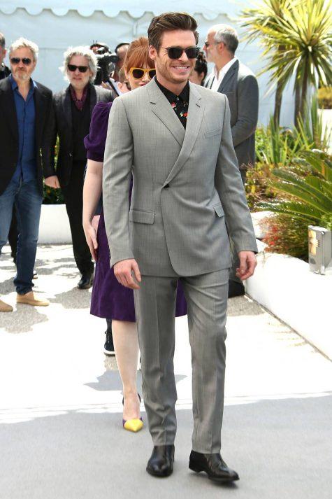 Diễn viên người Scottand Richard Madden cán mốc ở vị trí thứ 3 trong top thời trang sao nam ấn tượng. Ảnh: GQ