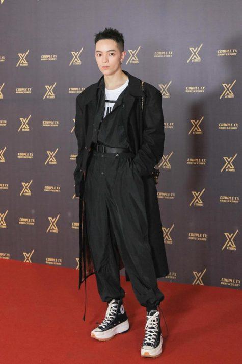 Kelbin Lei xếp vị trí á quân thời trang sao nam tuần này. Ảnh: FBNV