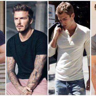 5 mẫu áo thun nam đẹp bạn nên có trong tủ đồ