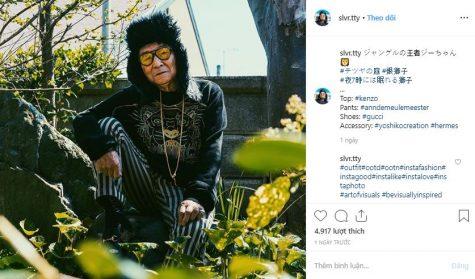 instagram cụ ông tetsuya có gui thời trang đường phố sành điệu