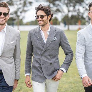 Áo blazer nam xám và gợi ý mix & match tuyệt vời