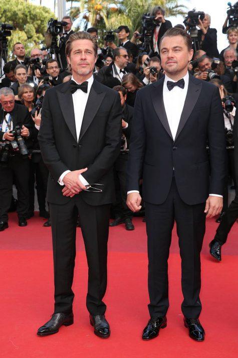 thời trang thảm đỏ - brad pitt và Leonardo Dicaprio đến cannes 2019