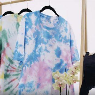 Áo tie dye: 3 cách tự nhuộm tại nhà đơn giản và hiệu quả