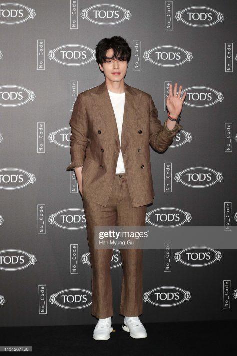 Lee Dong-Wook xếp vị trí thứ 7 trong bảng xếp hạng sao nam mặc đẹp của tuần. Ảnh: Getty
