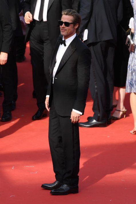 Brad Pitt lần đầu tiên góp mặt trong top sao nam mặc đẹp của ELLE Man. Ảnh: Evening Standard
