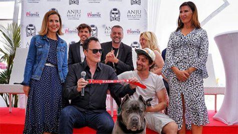 Chú chó Pitbull trong phim của Quentin đạt giải palm dog của LHP Cannes