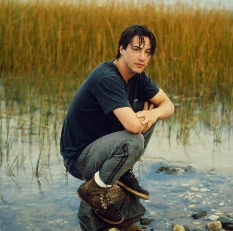 Diễn viên Keanu Reeves thời trẻ