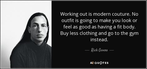 dong luc tap gym - rick owens quote - elle man