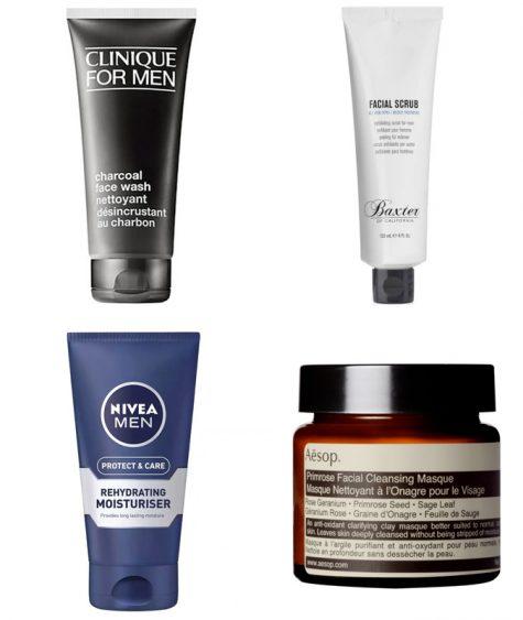 bộ râu đẹp - sản phẩm chăm sóc da mặt