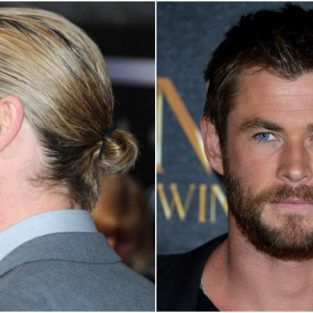 Chinh phục kiểu tóc nam tính như diễn viên Chris Hemsworth