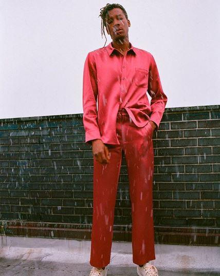 xu hướng thời trang nam áo satin