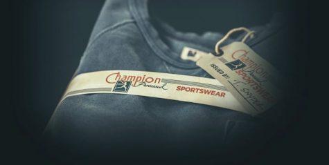 logo thương hiệu đầu tiên của champion