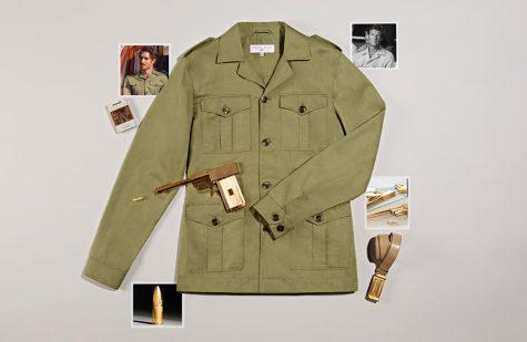 phối đồ mùa hè - áo khoác safari