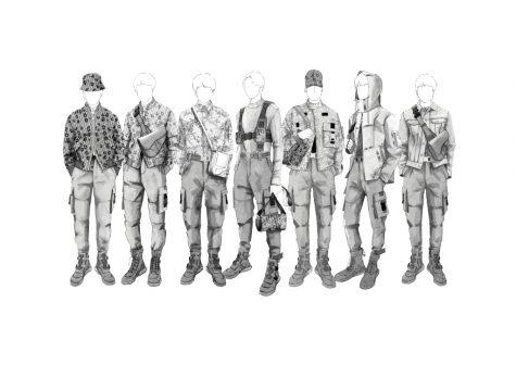 BTS trở thành boy band đầu tiên diện đồ trình diễn của Dior trở thành tin tức thời trang xôn xao vào đầu tháng năm. Ảnh: WWD