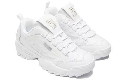 giày sneaker trắng fila disruptor