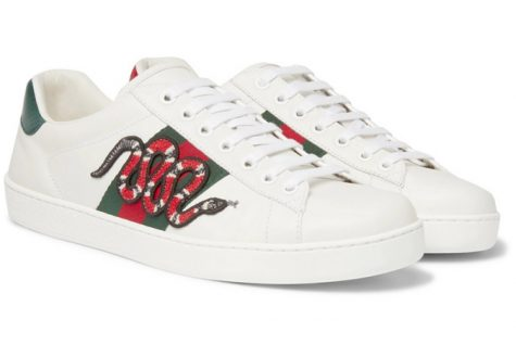 giày sneaker trắng gucci ace