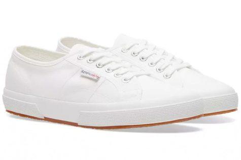 giày sneaker trắng superga