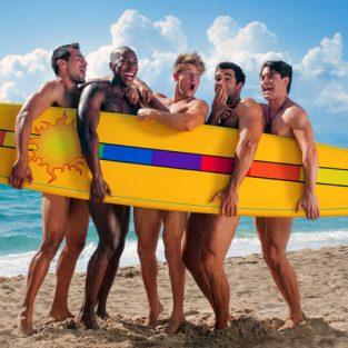 5 xu hướng đồ bơi nam cho mùa Hè 2019