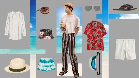 ELLE Man Style Calendar: Gợi ý thời trang đi biển Hè 2019