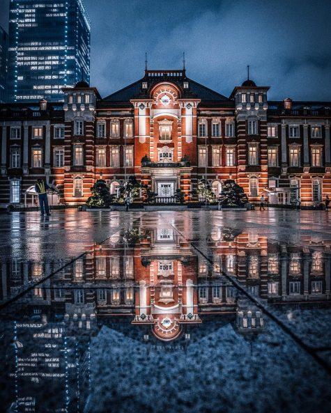 bộ ảnh đẹp - thành phố tokyo về đêm
