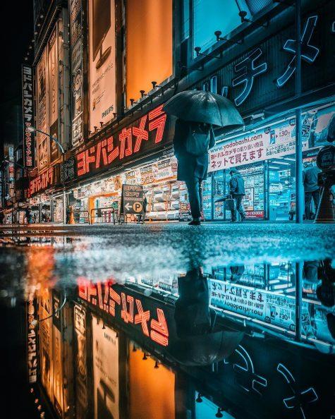 bộ ảnh đẹp - đường phố shinjuku