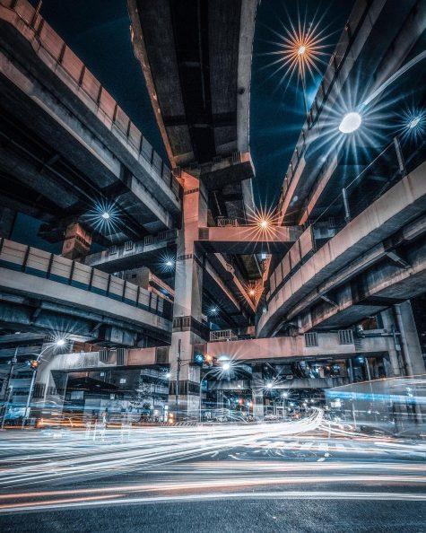 bộ ảnh đẹp - đường phố tokyo nhật bản