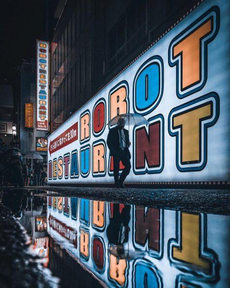 bộ ảnh đẹp - khám phá đường phố tokyo