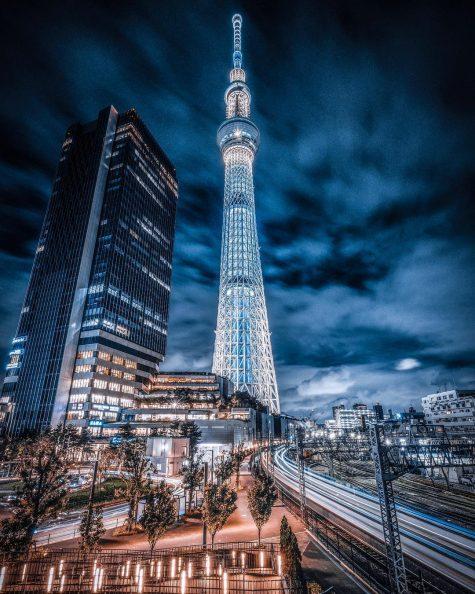 bộ ảnh đẹp - tokyo về đêm