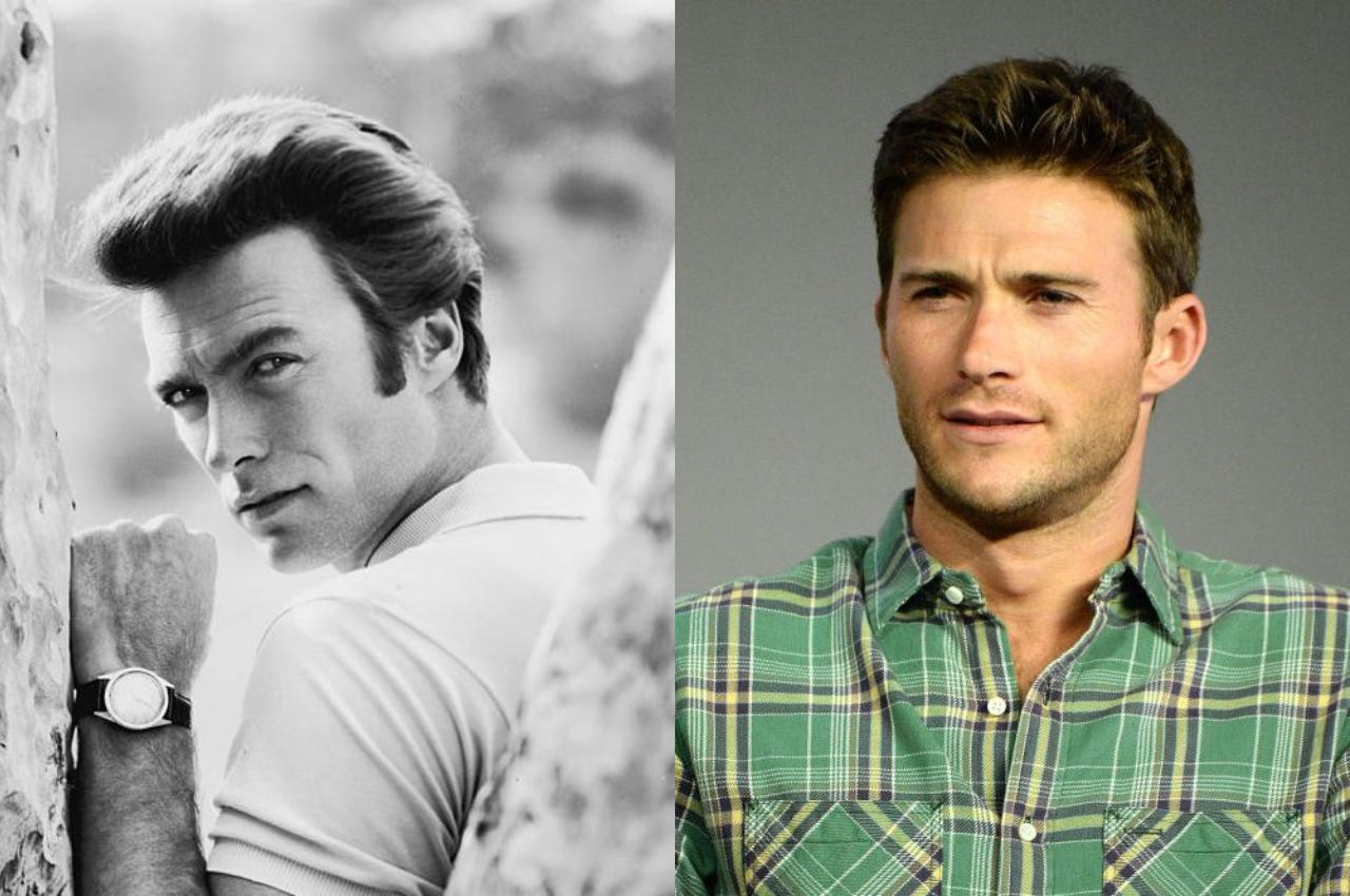cha con nam dien vien Clint Eastwood