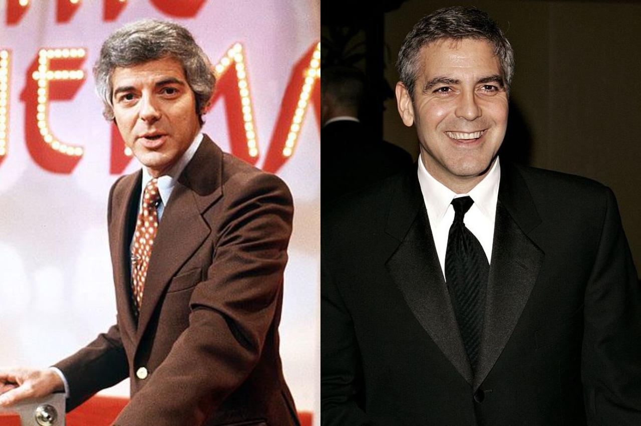 cha con nam dien vien Nick Clooney