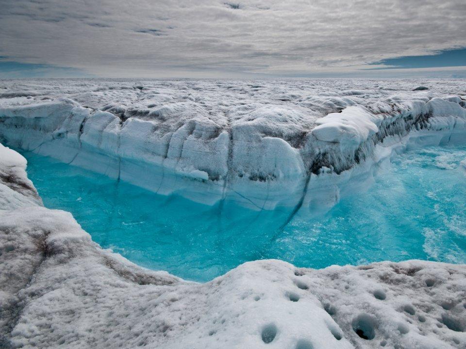 môi trường thế giới - đảo băng tan chảy