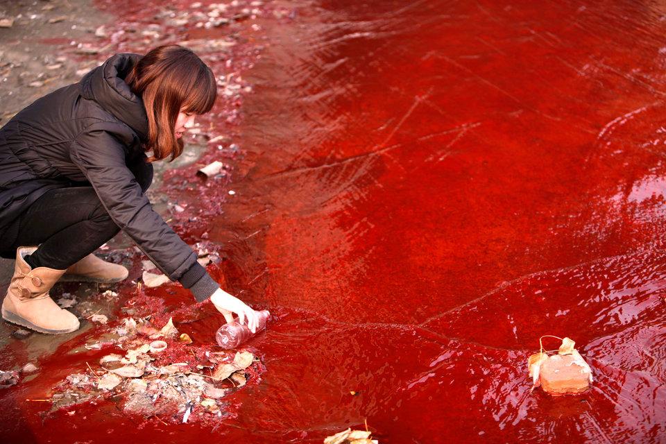 môi trường thế giới - ả rác bừa bãi ở nguồn nước