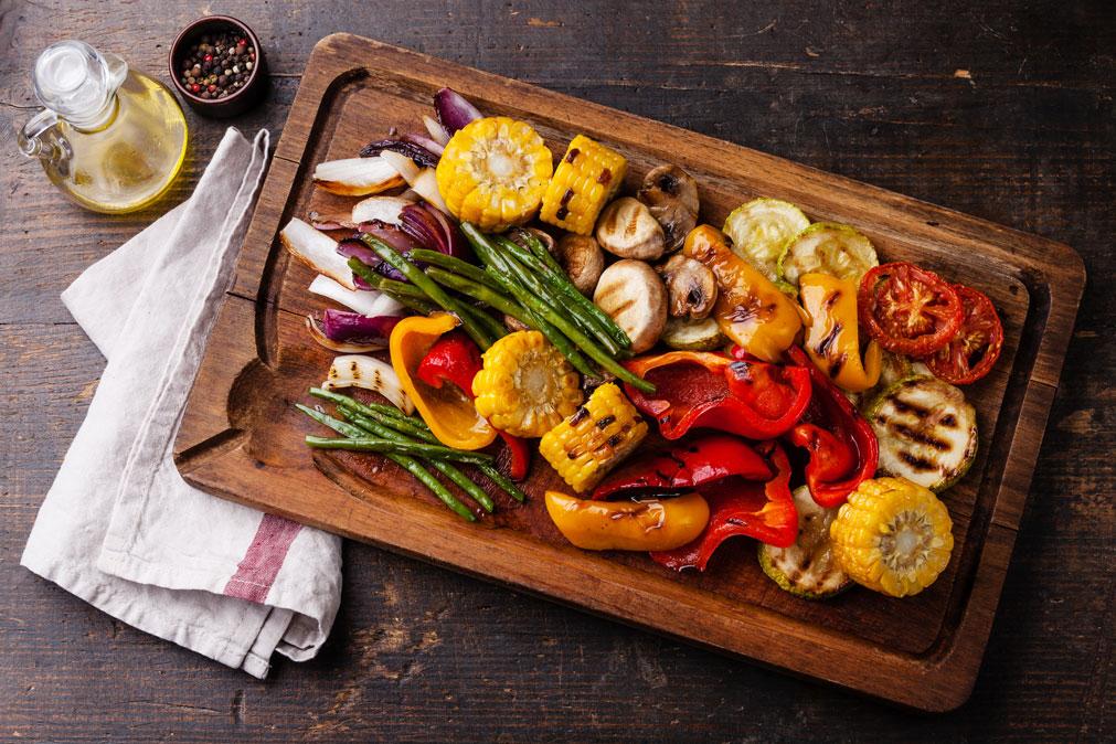 chế độ ăn nhiều rau và các dưỡng chất