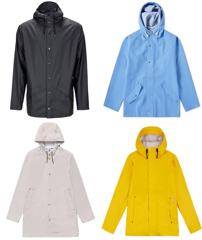 trang phục đẹp-các loại áo mưa theo phong cách Minimalism
