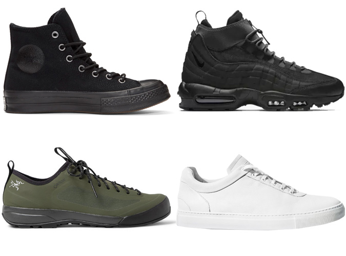 trang phục đẹp-các loại giày sneaker chống nước