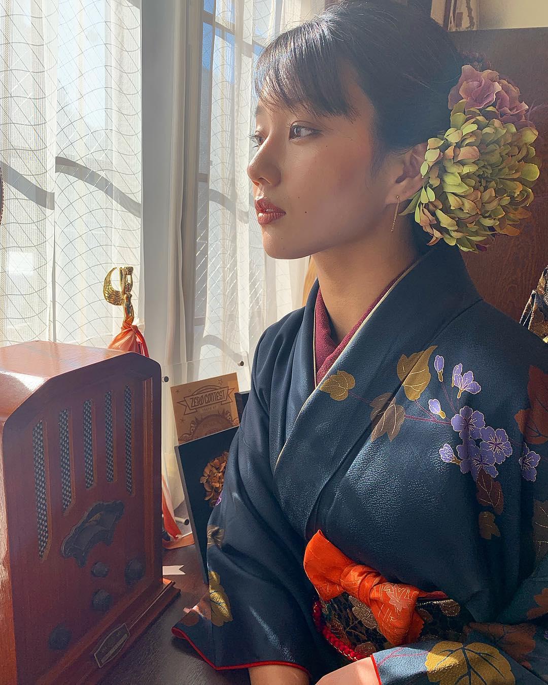 nữ dancer-NaNa mặc áo kimono