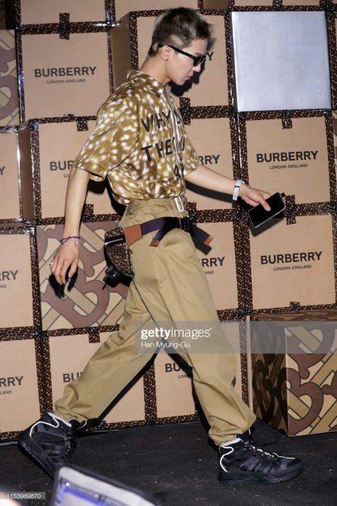 Outfit thời thượng và đặc sắc của Song Mino lọt top thời trang sao nam ấn tượng của tuần. Ảnh: Getty Images
