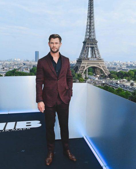 Chris Hemworth trở lại bảng xếp hạng sao nam mặc đẹp sau nhiều tuần vắng bóng kể từ hồi ra mắt phim Avengers: Endgame. Ảnh: Instagram @samanthamcmillen_stylist