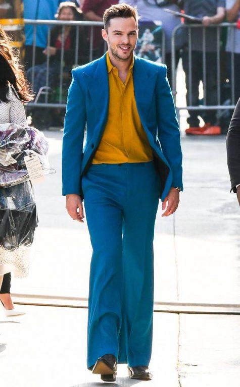 Nicholas Hoult giữ vị trí quán quân trong top sao nam mặc đẹp tuần đầu tháng 6/2019. Ảnh: E! Online
