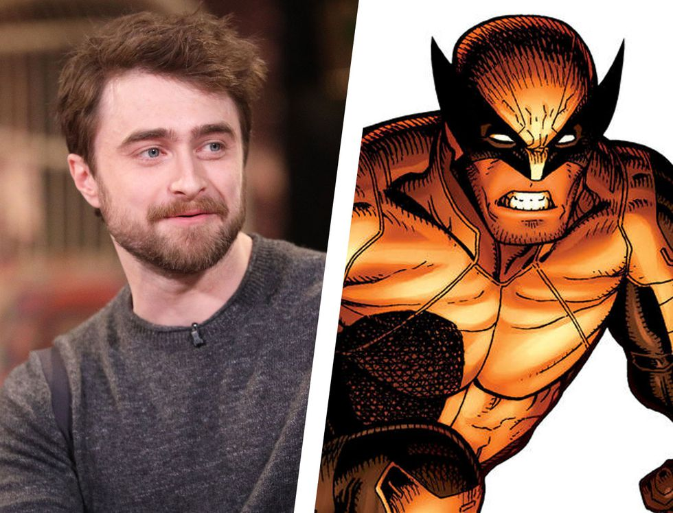 """Người Sói"" Wolverine-Daniel Radcliffe trong vai Wolverine"
