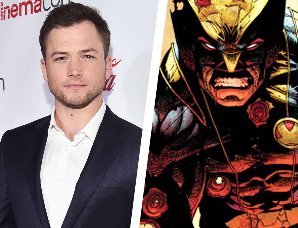 """Người Sói"" Wolverine-Taran Egerton trong vai Wolverine"