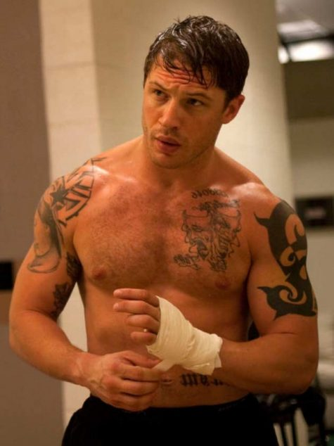 """Người Sói"" Wolverine-Tom Hardy sexy"