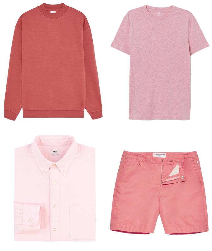 cách phối màu-các trang phục màu hồng
