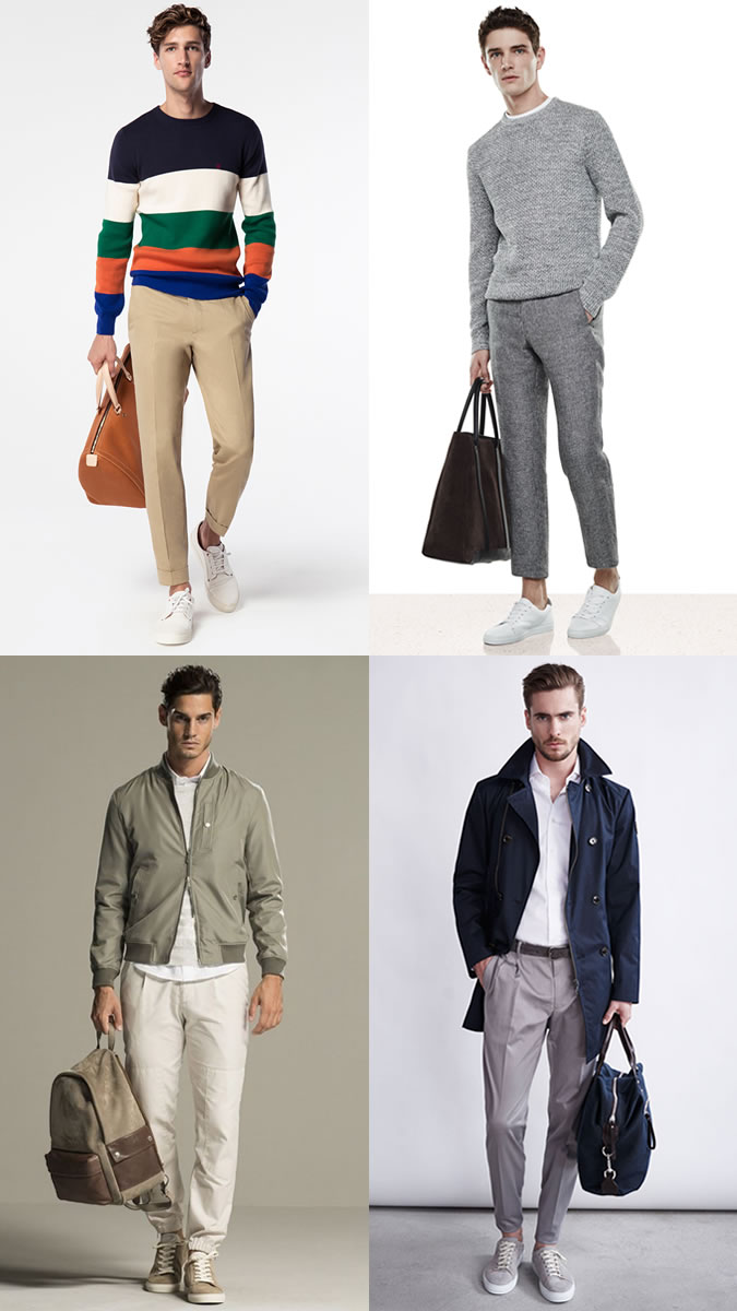 mua túi xách nam đẹp - xem nhẹ màu sắc của túi