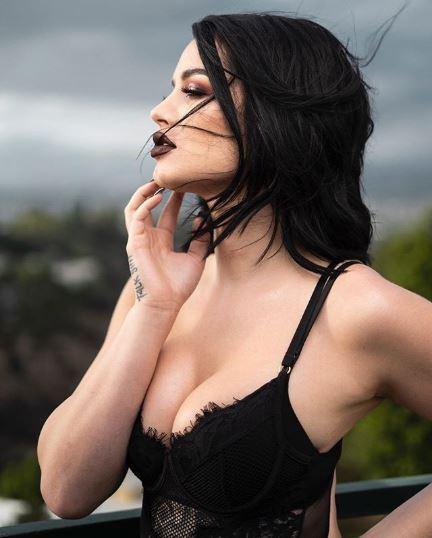 nữ đô vật WWE Paige 2