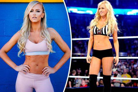 nữ đô vật WWE Summer Rae 5
