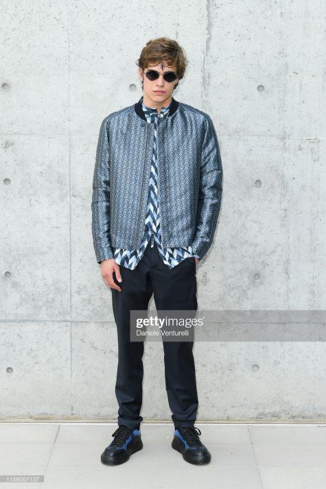 Lorenzo Zurzolo mang đến phong cách lịch lãm, trẻ trung trong top sao nam mặc đẹp. Ảnh: Getty Images