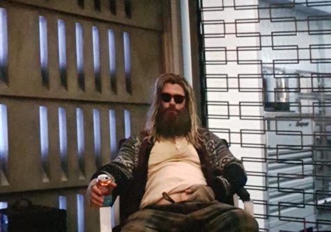 phối đồ cho đàn ông mập cảnh thor trong avenger endgame