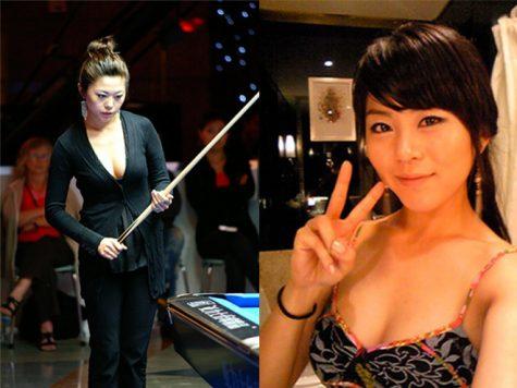 cơ thủ bida-Kim Ga Young sexy