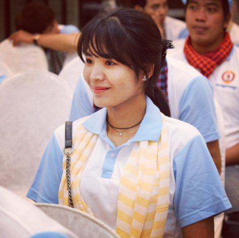 cơ thủ bida-Srong Pheavy dự sự kiện